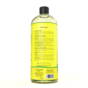pure castile soap lemon barcode