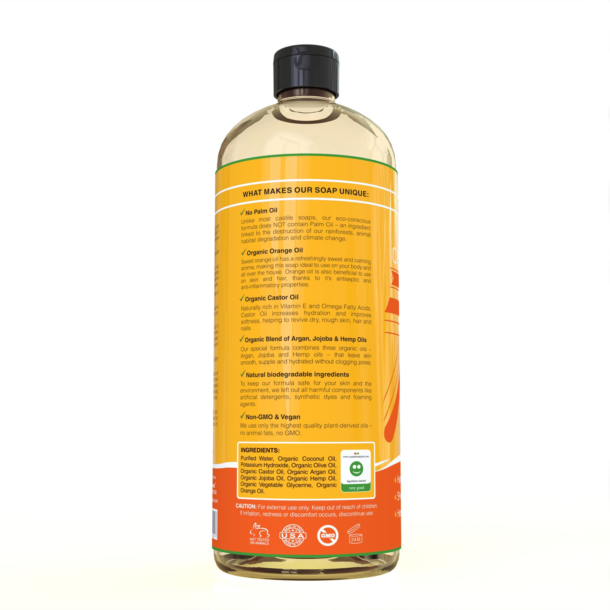 Castile Soap - Sweet Orange