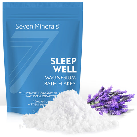 New SLEEP WELL Magnesium Chloride Flakes 3lb