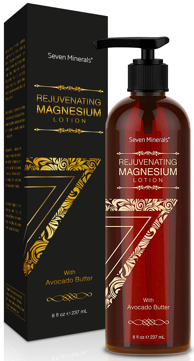 NEW Rejuvenating Magnesium Body Lotion, 8oz