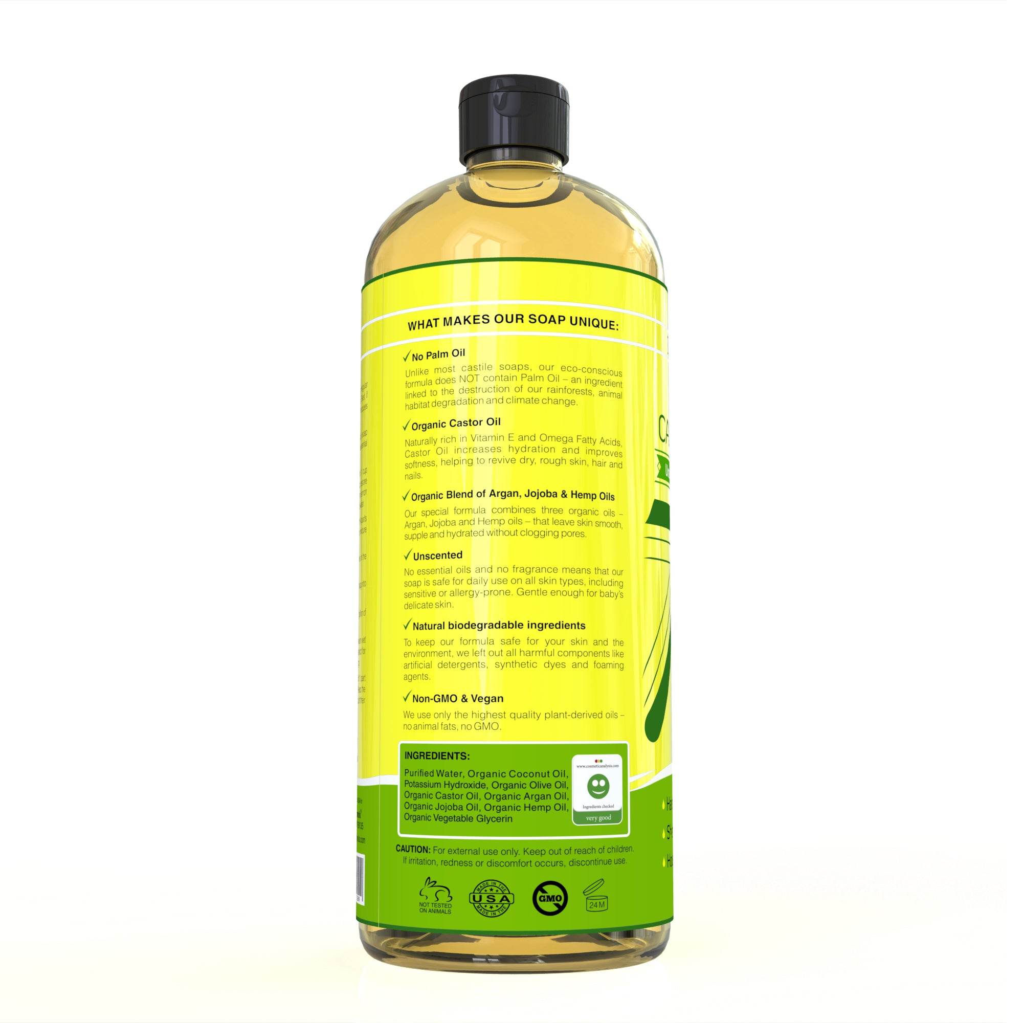 Pure Castile Soap (Shipping within USA only)