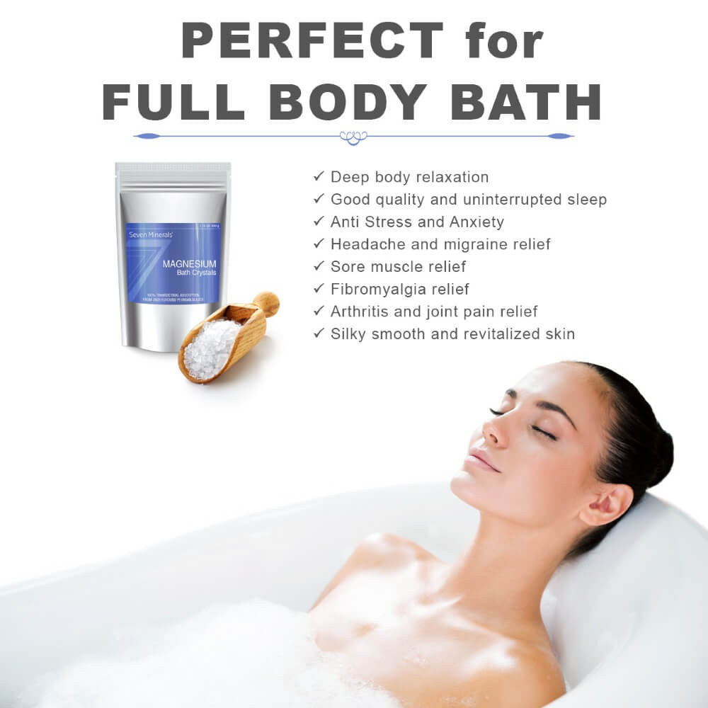 Magnesium Chloride Bath Crystals body benefits