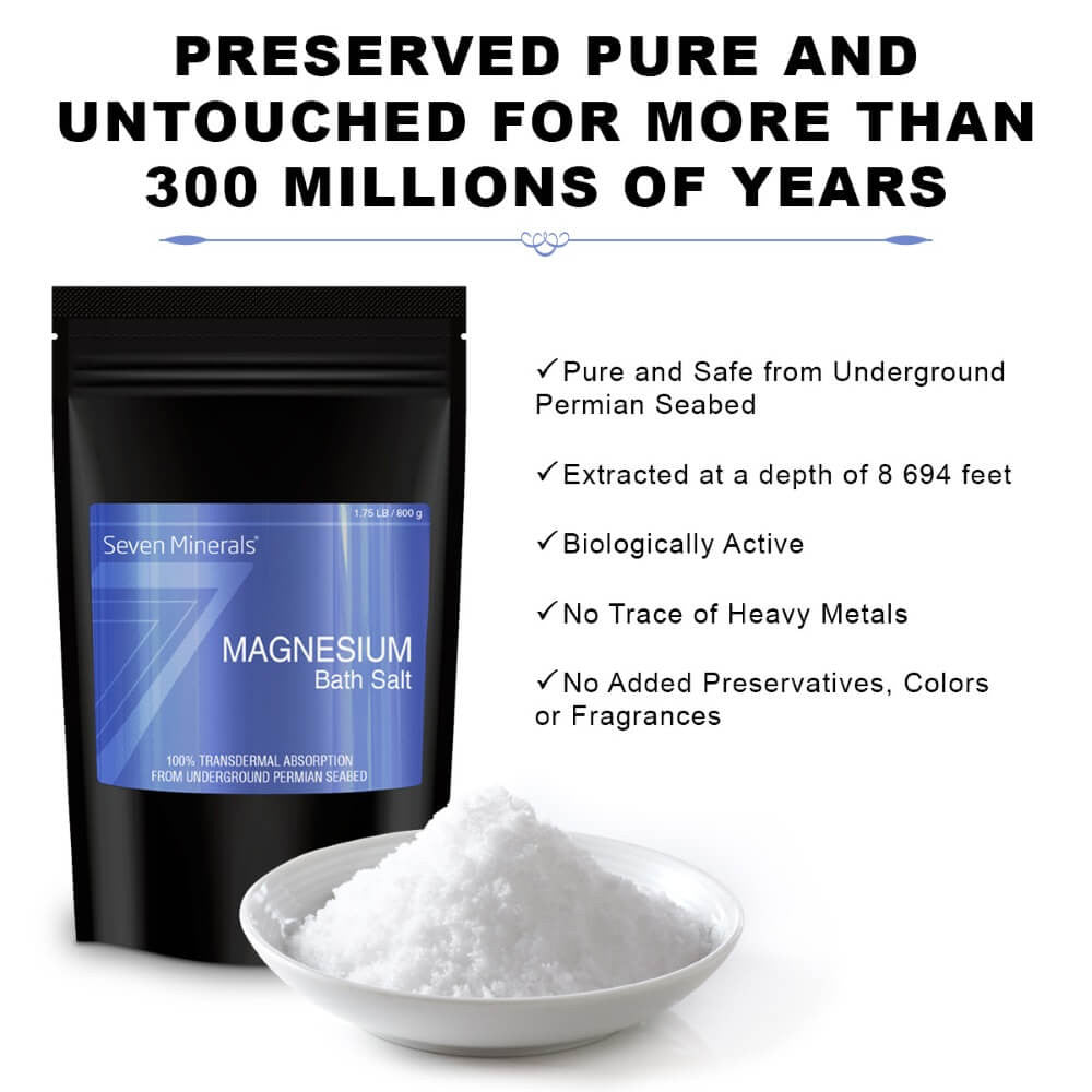 Magnesium Chloride Bath Salts features