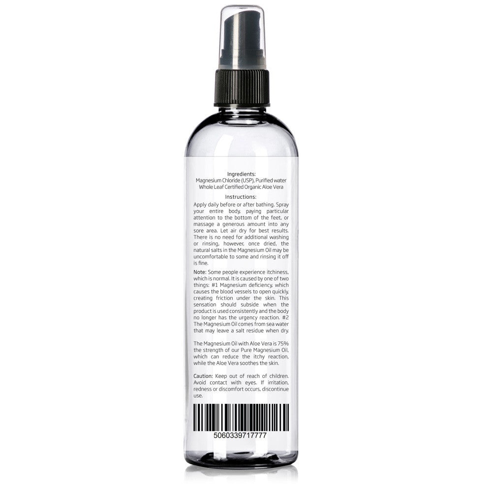 Magnesium Oil with Aloe Vera barcode