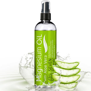 Magnesium Oil with Aloe Vera, BIG 12 Oz
