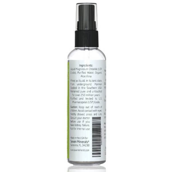 Magnesium Oil with Aloe Vera Travel barcode