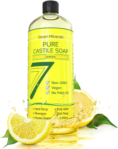Castile Soap - Lemon (Shipping Within USA only)
