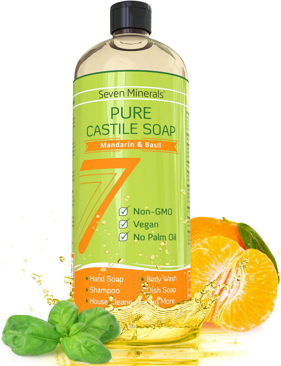 Castile Soap - Mandarine Basil (Shipping Within USA only)