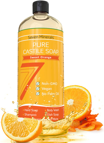 Castile Soap - Sweet Orange (Shipping Within USA only)