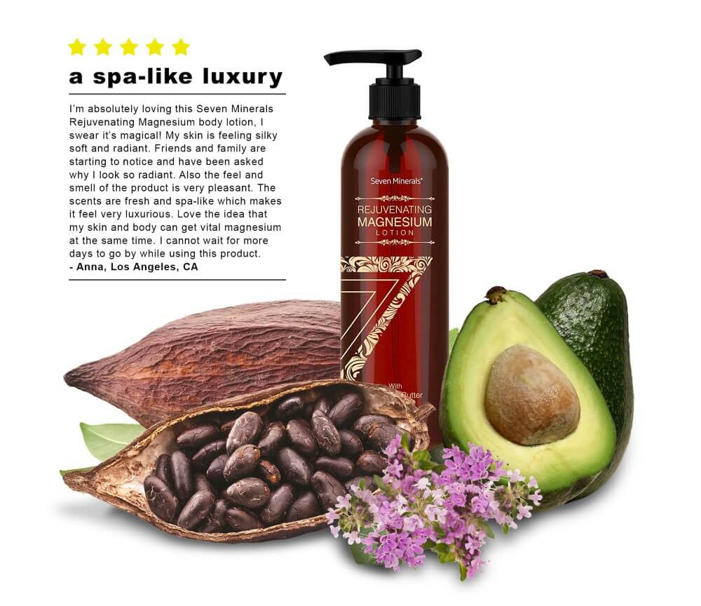 Rejuvenating Magnesium Lotion Avocado review