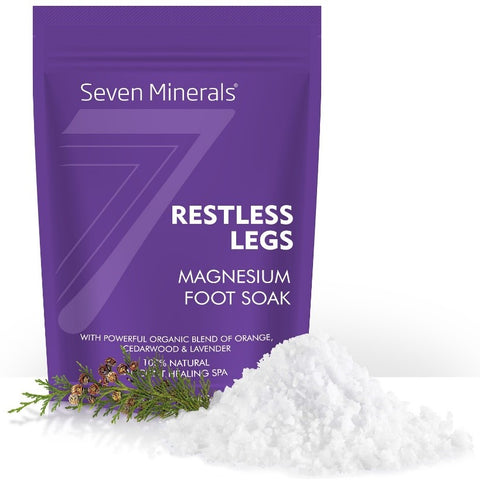 RESTLESS LEGS Magnesium Chloride Flakes 3lb