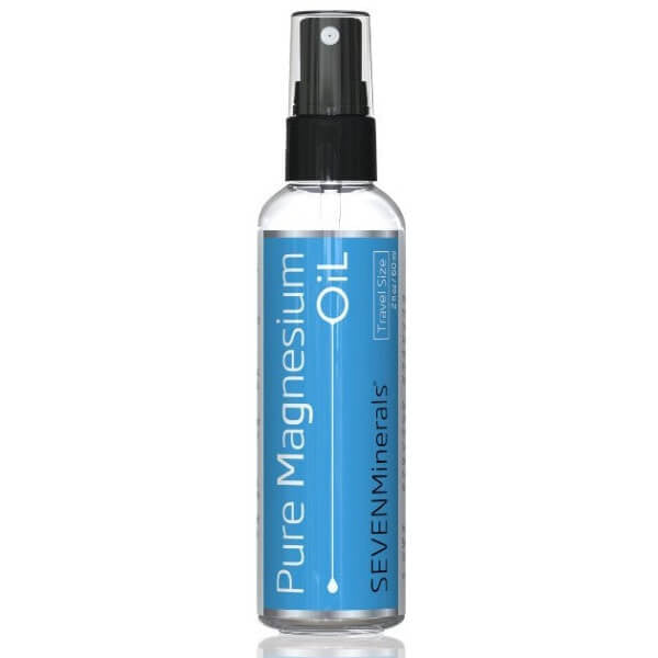 USP Grade Magnesium Oil Travel Size front