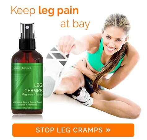 Seven Minerals Leg Cramps Spray