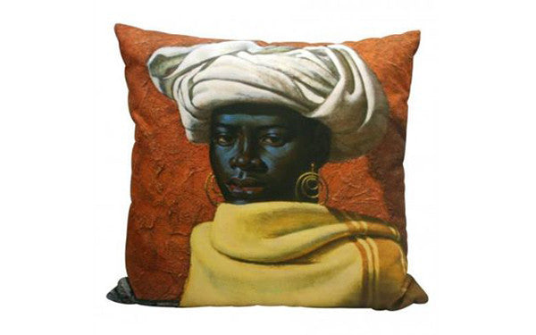 Tretchikoff's Swazi Girl cushion