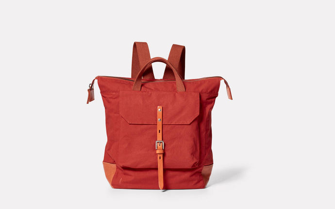 Frances Hybrid Small Rucksack Brick
