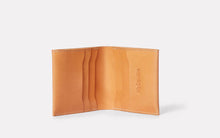 Oliver Leather Wallet Tan