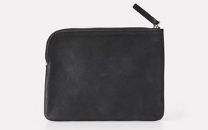 Jan Calvert Leather Purse Black