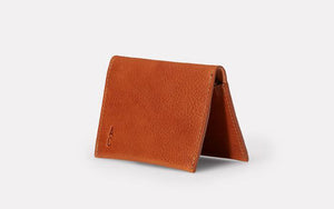 Riley Leather Coin Card Purse Tan