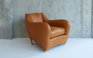 Balzac chair with ottoman