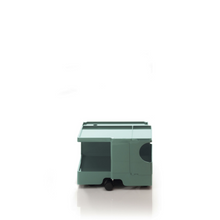 The Boby Trolley Small no drawers, seen here In the colour verdigris. Available exclusively at Bob and Friends.