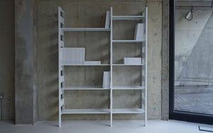 Parallel Shelving System White