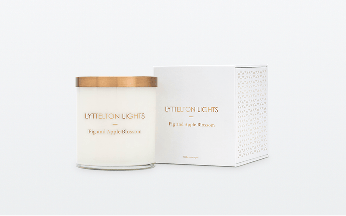Fig and Apple Blossom Candle
