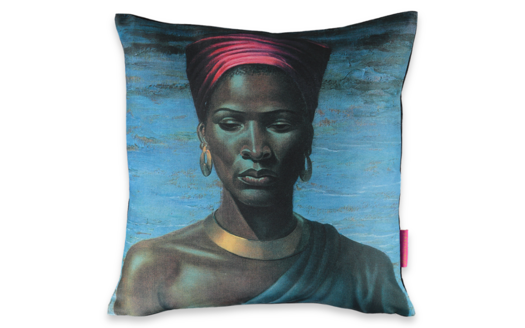 Tretchikoff's Zulu Girl Cushion