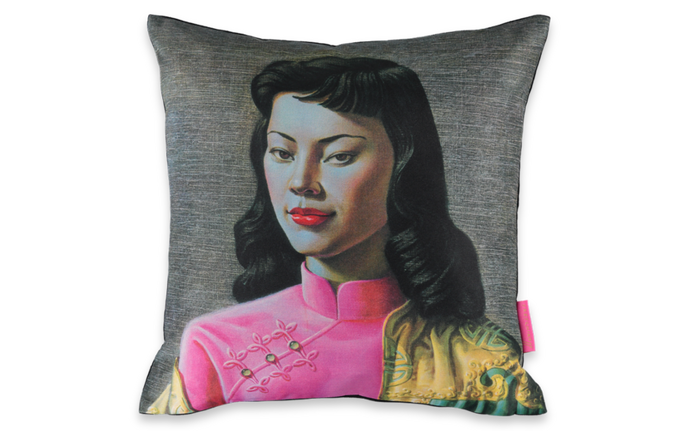 Tretchikoff's Miss Wong Cushion