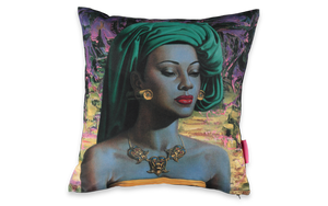 Tretchikoff's Balinese Girl cushion