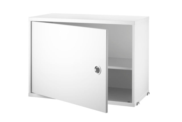String Shelving System- Cabinet with swing doors