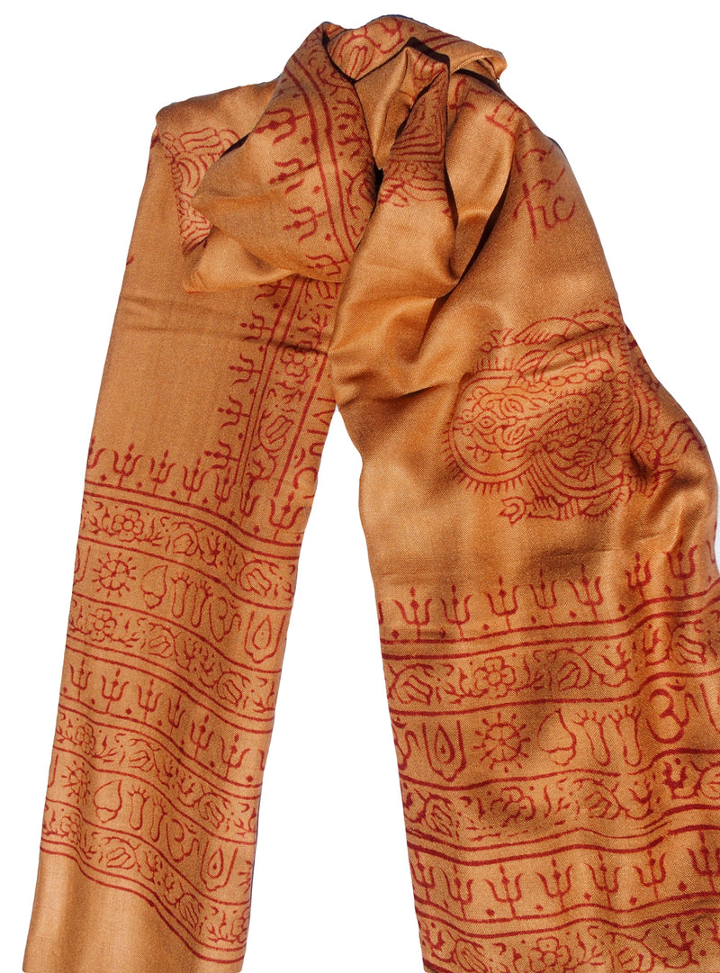 Beach Sarong, Wrap and Neck Scarf handmade in India with soft rayon fabric
