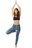 Tiger Waves Leggings