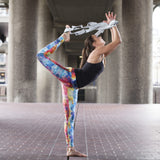 Grey Yoga Stretch Strap