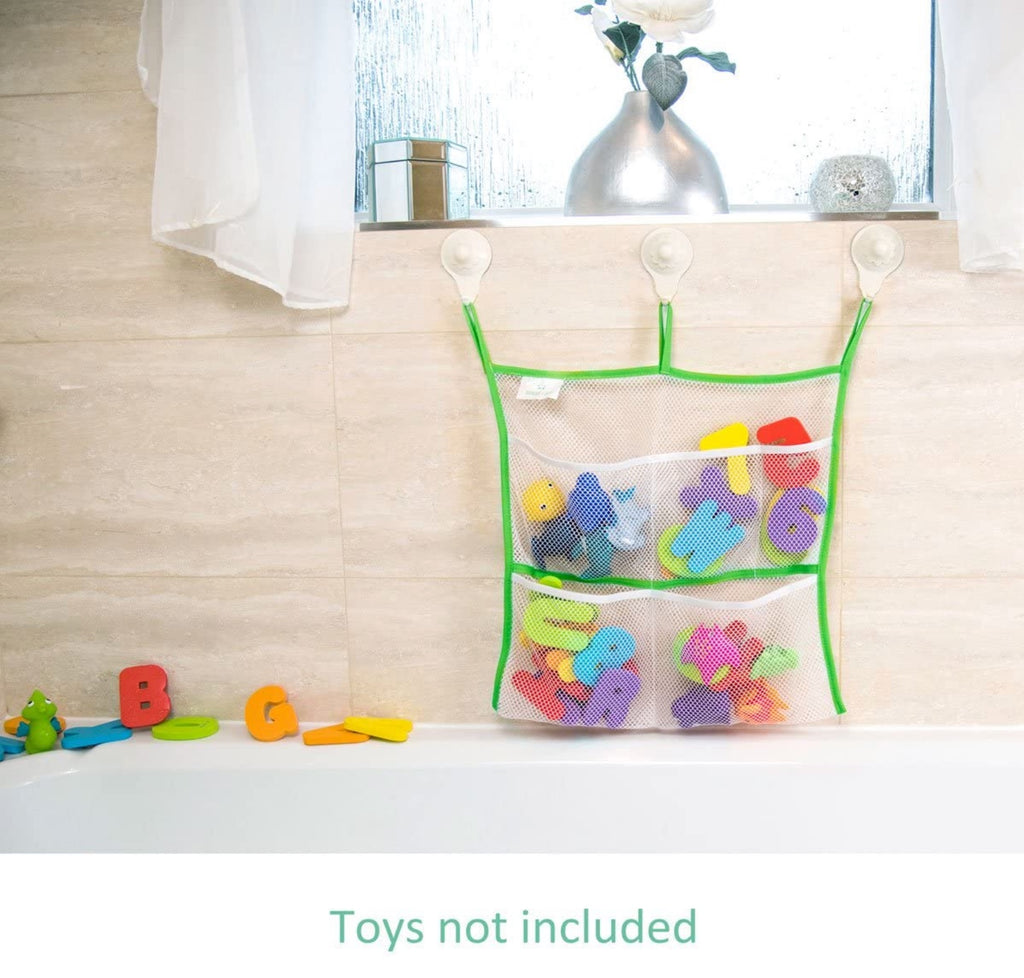 Nooni Care Bath Accessories Organiser Basket for Kids Bathroom Toy Storage