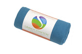 Blue Hot Yoga Towel