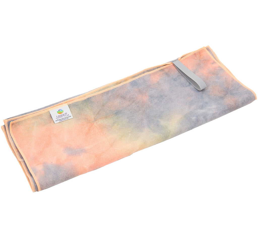 """Earth"" Tie Dye Yoga Towel"