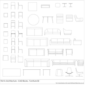 FIA Cad Blocks - Furniture 02