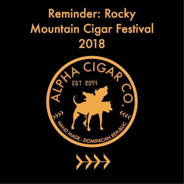 Alpha Cigar to exhibit at Rocky Mountain Cigar Festival