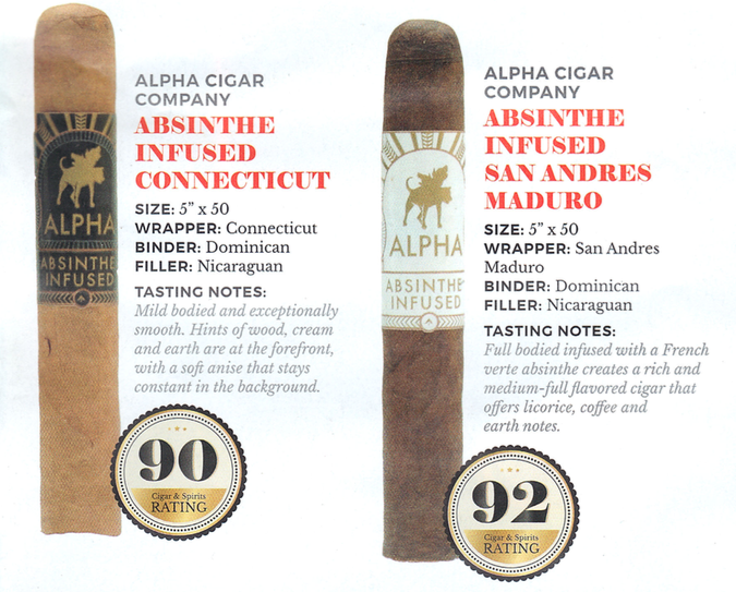Alpha Cigar Co. San Andres Maduro Rated 92 points on Cigar and Spirits Magazine