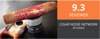 Alpha Cigar's Claro rated 9.3 by CigarNoise Reviewer