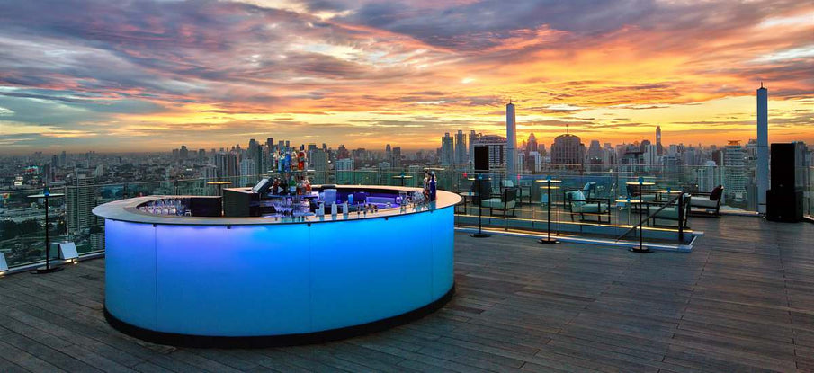 Experience Bangkok rooftop bars with Alpha Cigar Co.