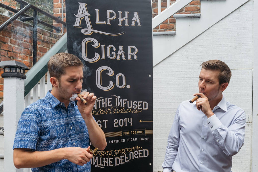 Just a Typical [Epic] New Orleans night out with Alpha Cigar Co.
