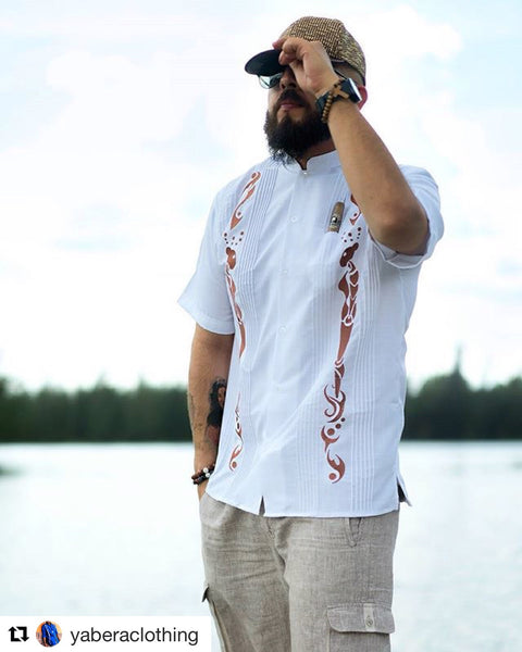 The Guayabera Shirt - a Latino Icon and the Ultimate Cigar Smoker's Shirt.