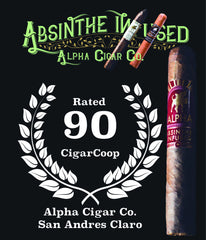 Alpha Cigar rated 90 on Cigar Coop