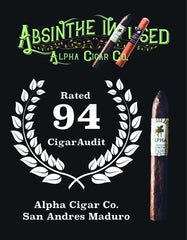 Cigar Audit Alpha Cigar Review 94 rating