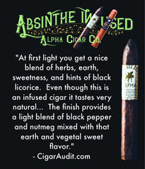 Cigar Audit Review of Absinthe Infused Maduro