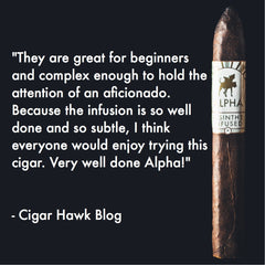 Cigar Hawk Blog Alpha Cigar Review