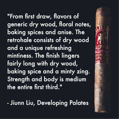 Developing Palates Review of Alpha Cigar
