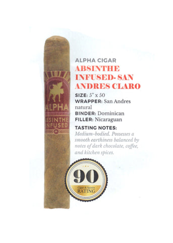 Alpha Cigar Company Absinthe Infused Claro