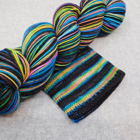 Drive By Self Striping Ridley Sock